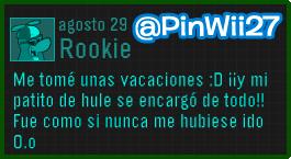 Mensaje-Rookie