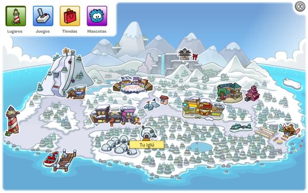 Mapa iglú