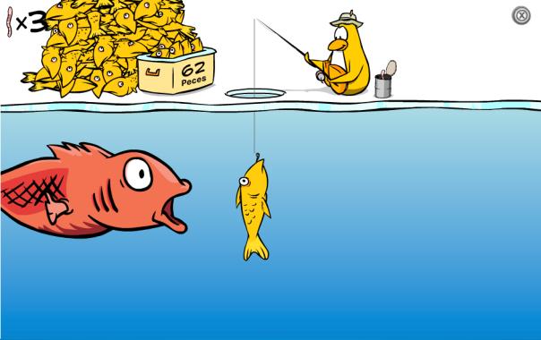 Pesca en Hielo - Tip de Juego