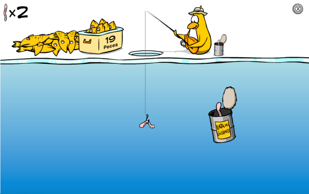 Pesca en Hielo - Tip de Juego1