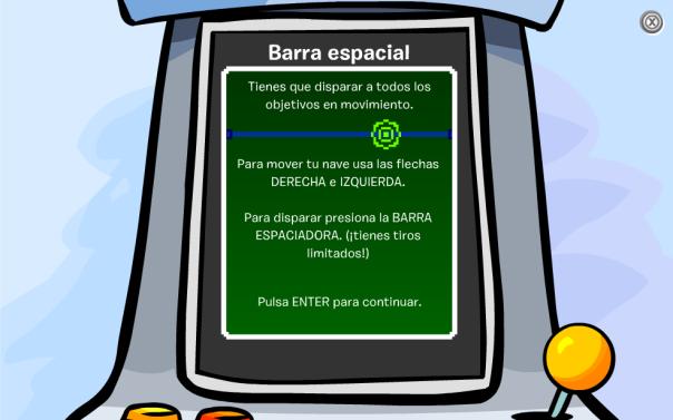Barra Espacial - Cómo jugar
