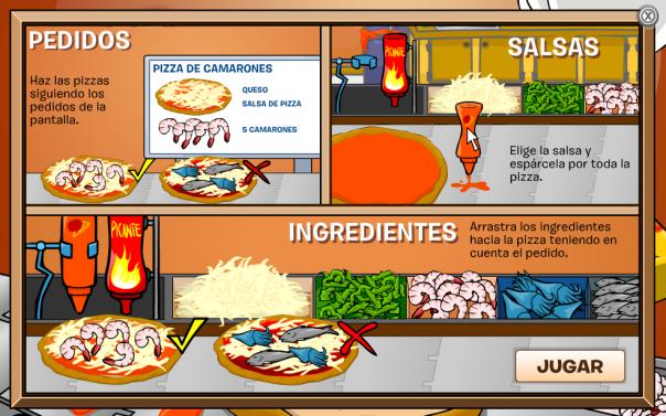 Pizzatron 3000 - Cómo jugar