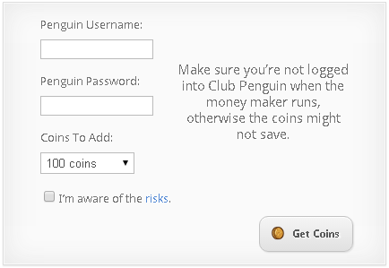 Club Penguin Money Maker