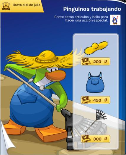 Catálogo de Moda Pinguina Junio - Pinguinos trabajando